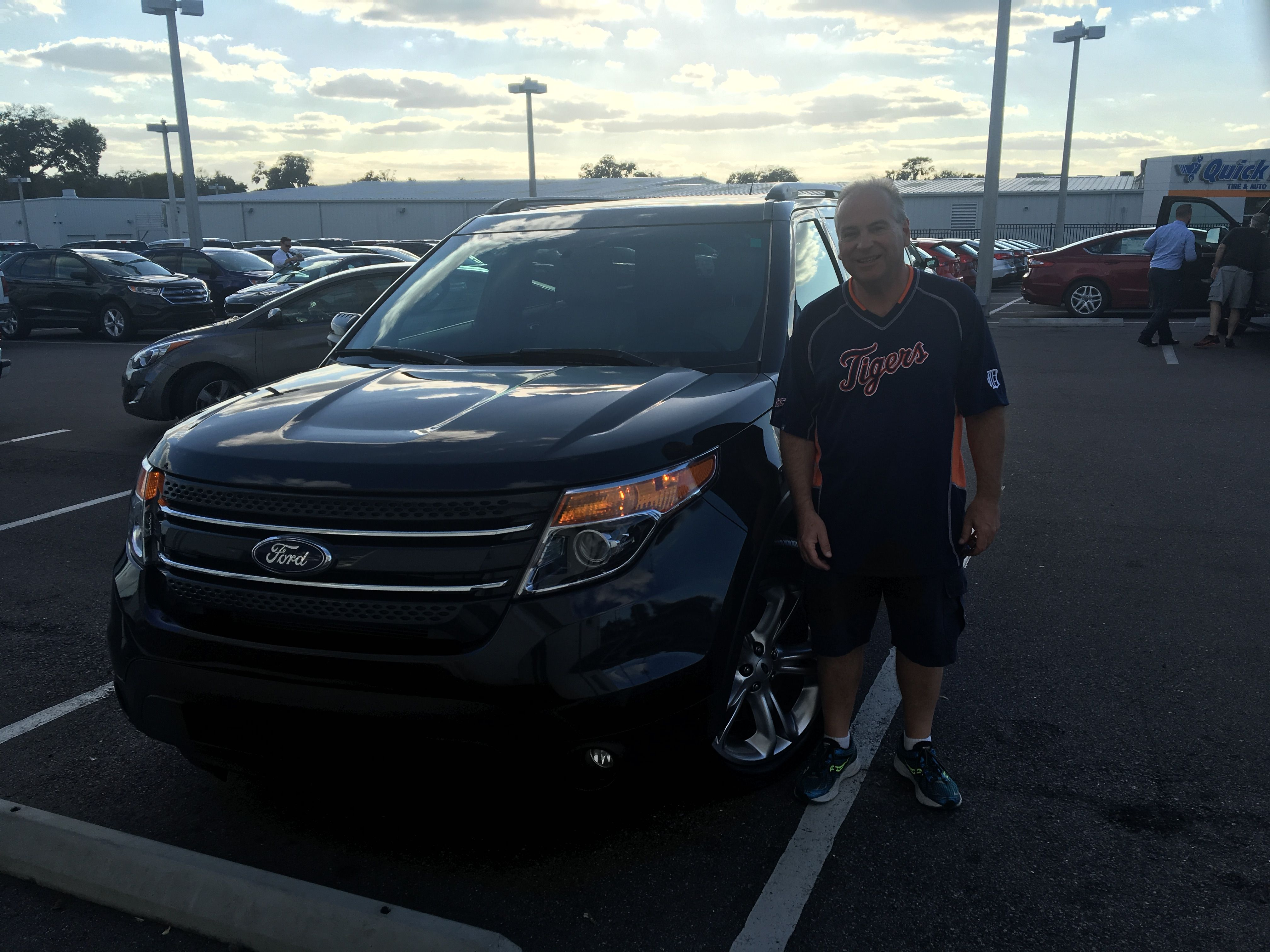 Ronald Krohn came into Lakeland Ford and bought a 2015