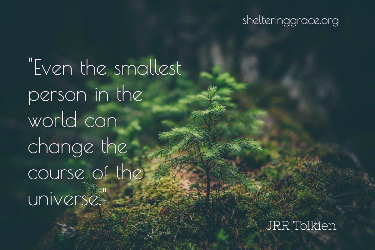 Jrr Tolkien Quotes About Life Even The Smallest Person In The World Can Change The Course Of The