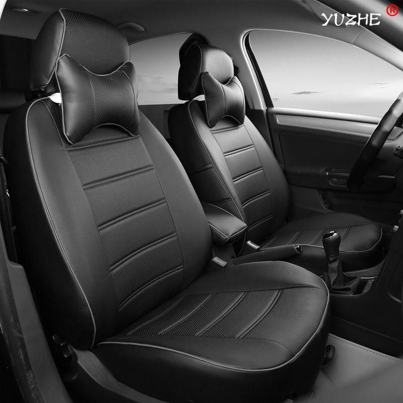 Us 172 80 Yuzhe Leather Car Seat Cover For Ford Mondeo Focus 2 3 Kuga Edge Explorer Fiesta Cover Edge Ex Leather Car Seat Covers Car Seats Carseat Cover