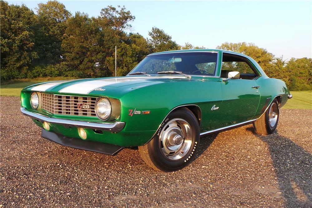 1969 CHEVROLET CAMARO Z/28 – Barrett-Jackson Auction Company – World's Greatest Collector Car Auctions