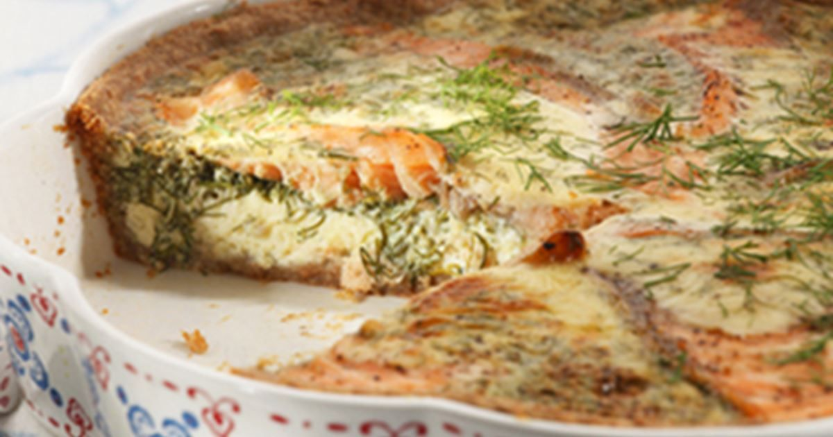 Lohipiirakka on herkullinen ja maistuva suolainen piirakka. Piirakka sopii vaikkapa illanistujaisissa tarjottavaksi.