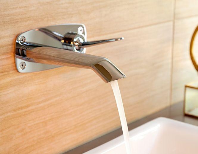 Venty Wall Mounted Lavatory And Vessel Faucet Faucets Lavatory Doraco Noiseux Vessel Faucets Faucet Lavatory