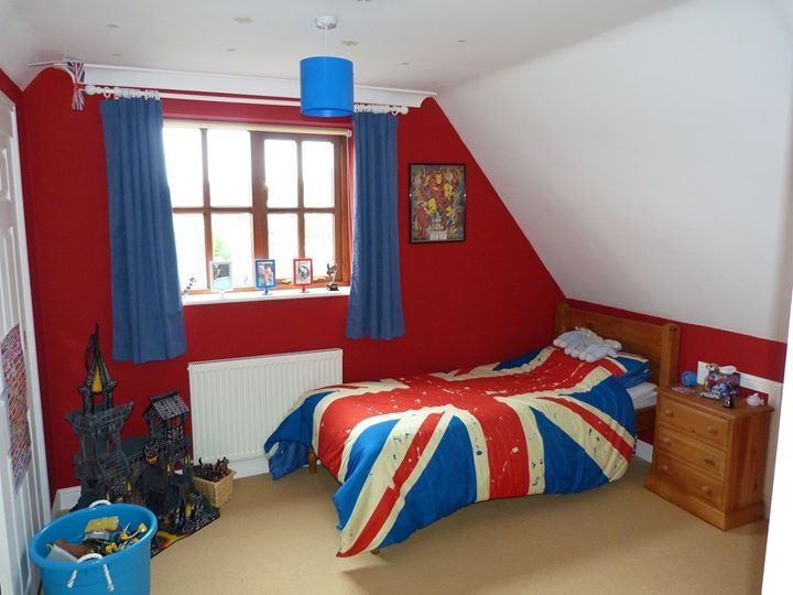 Union jack bedroom xx kids spaces pinterest union for Union jack bedroom ideas