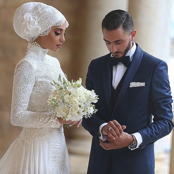 Hijab Bride Other Robes De Mariage Musulman Robes De