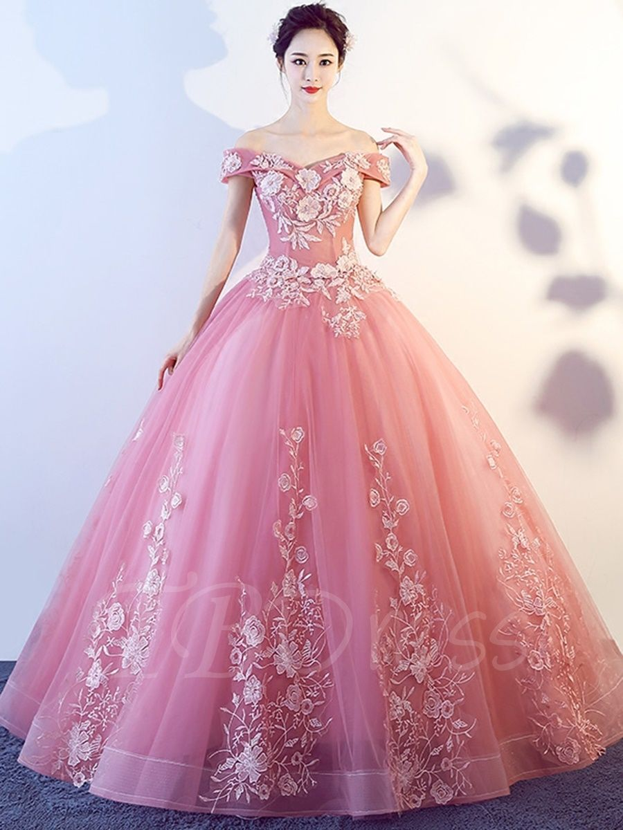 b0f69e6fd7e1 Tbdress.com offers high quality Off-the-Shoulder Short Sleeves Appliques  Quinceanera Dress Ball Gowns unit price of $ 173.99.