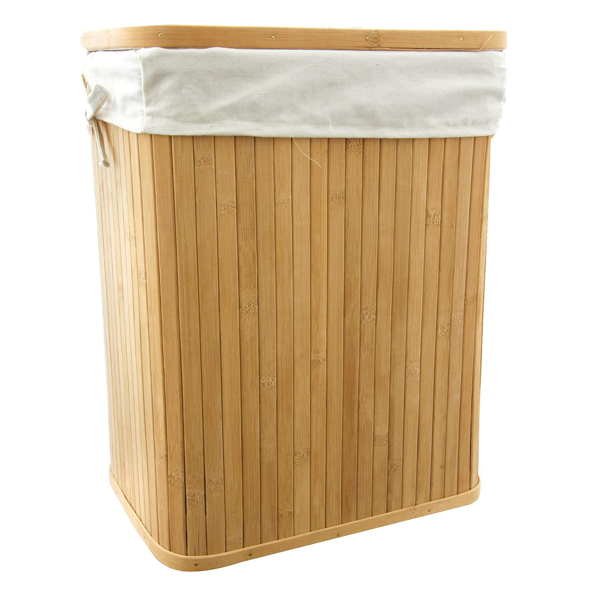 Woodford Bamboo Laundry Basket Laundry Hamper Bamboo Bathroom Laundry Basket