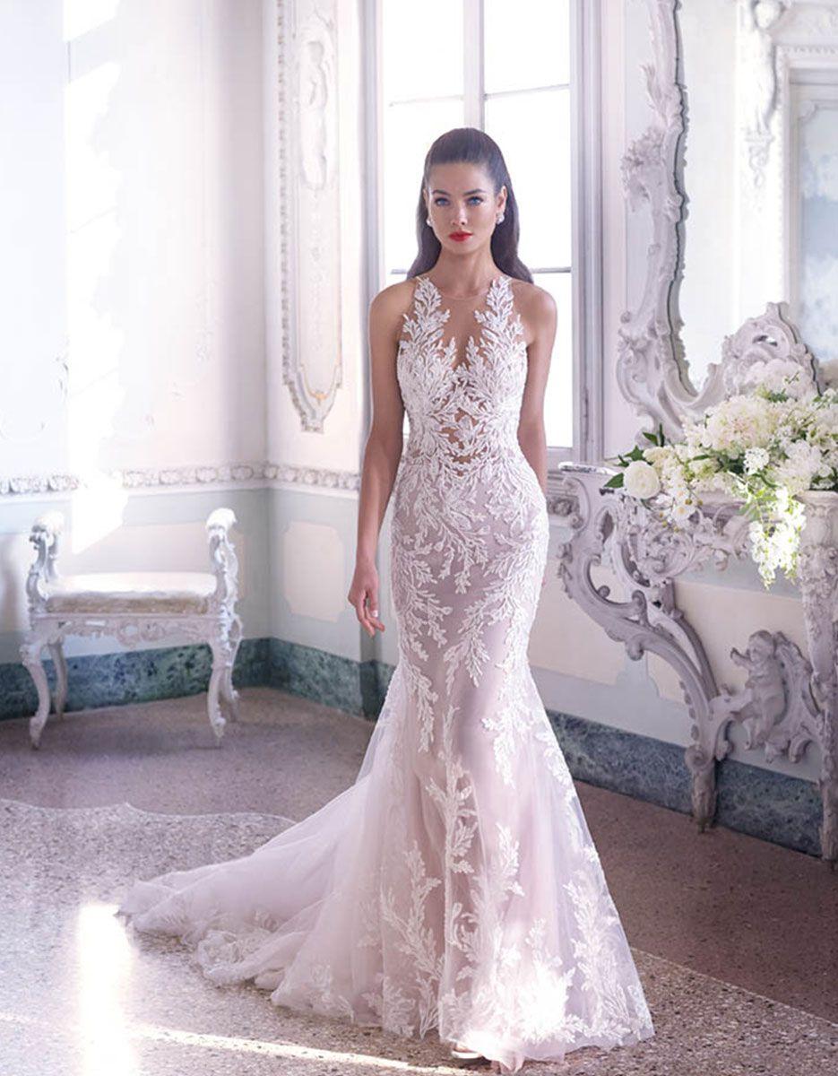 Platinum by demetrios wedding dress style dp louise 美图