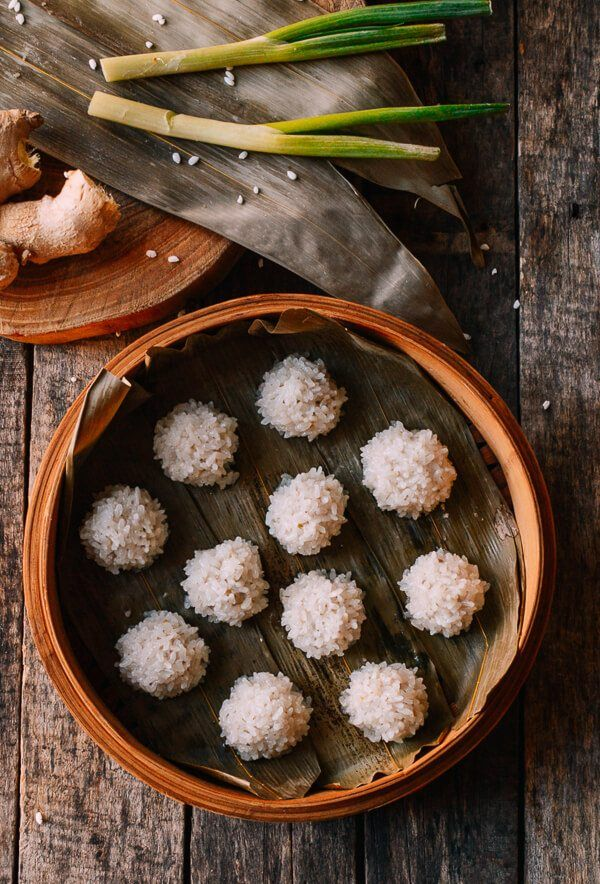 Chinese Pearl Meatballs with Sticky Rice (珍珠丸子) Recipe