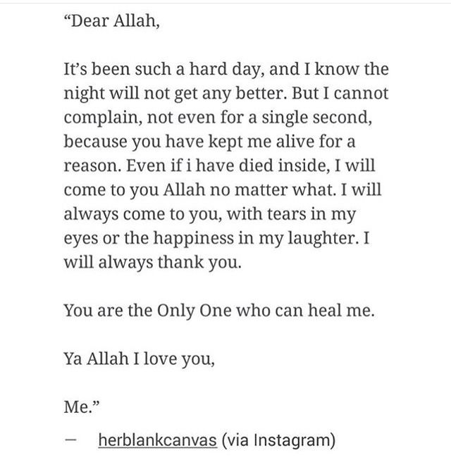 Dear Allah I Always Pray To Allah That Hes Willing To Softened