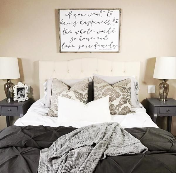 If you want to bring happiness fixer upper joanna diy for Bedroom designs by joanna gaines