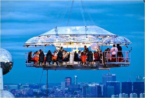 Amaze7 10 Amazing Restaurants Around The World Dinner In The Sky Sky World
