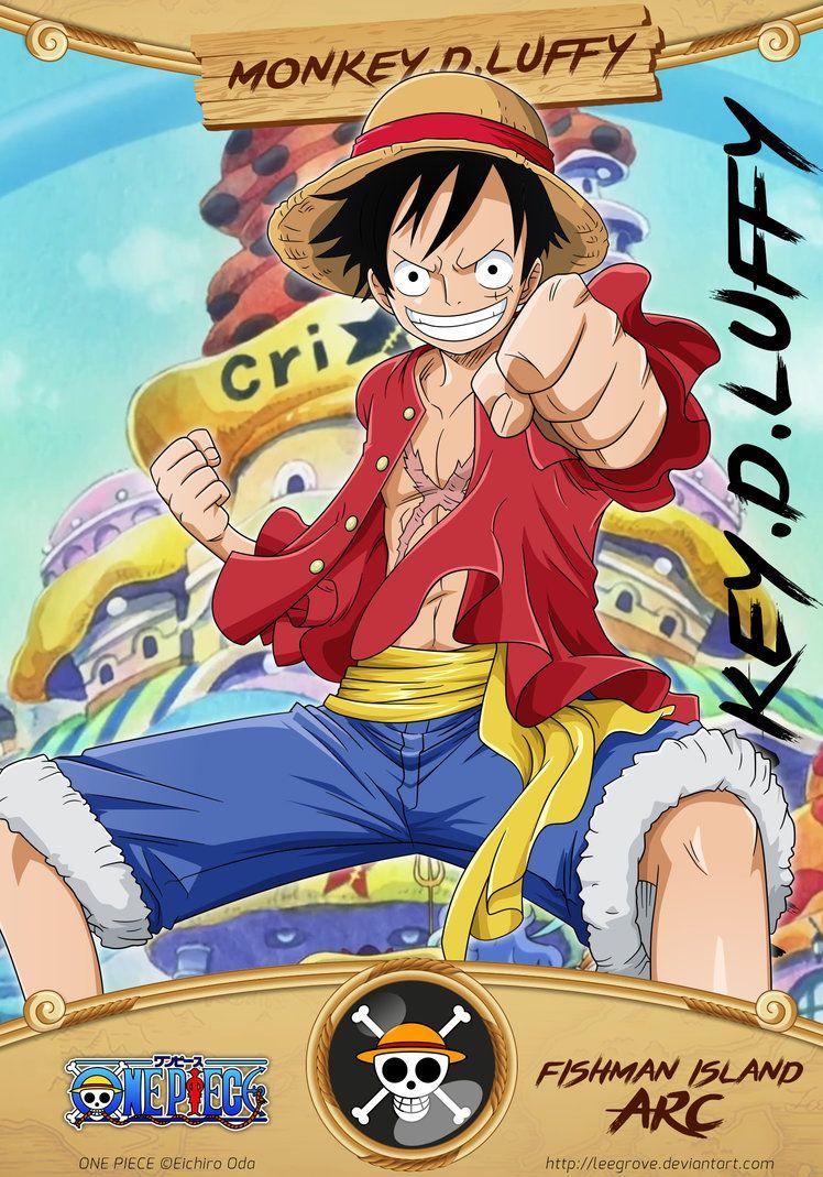 Monkey.D.Luffy ©Eichiro Oda Characters art & card design