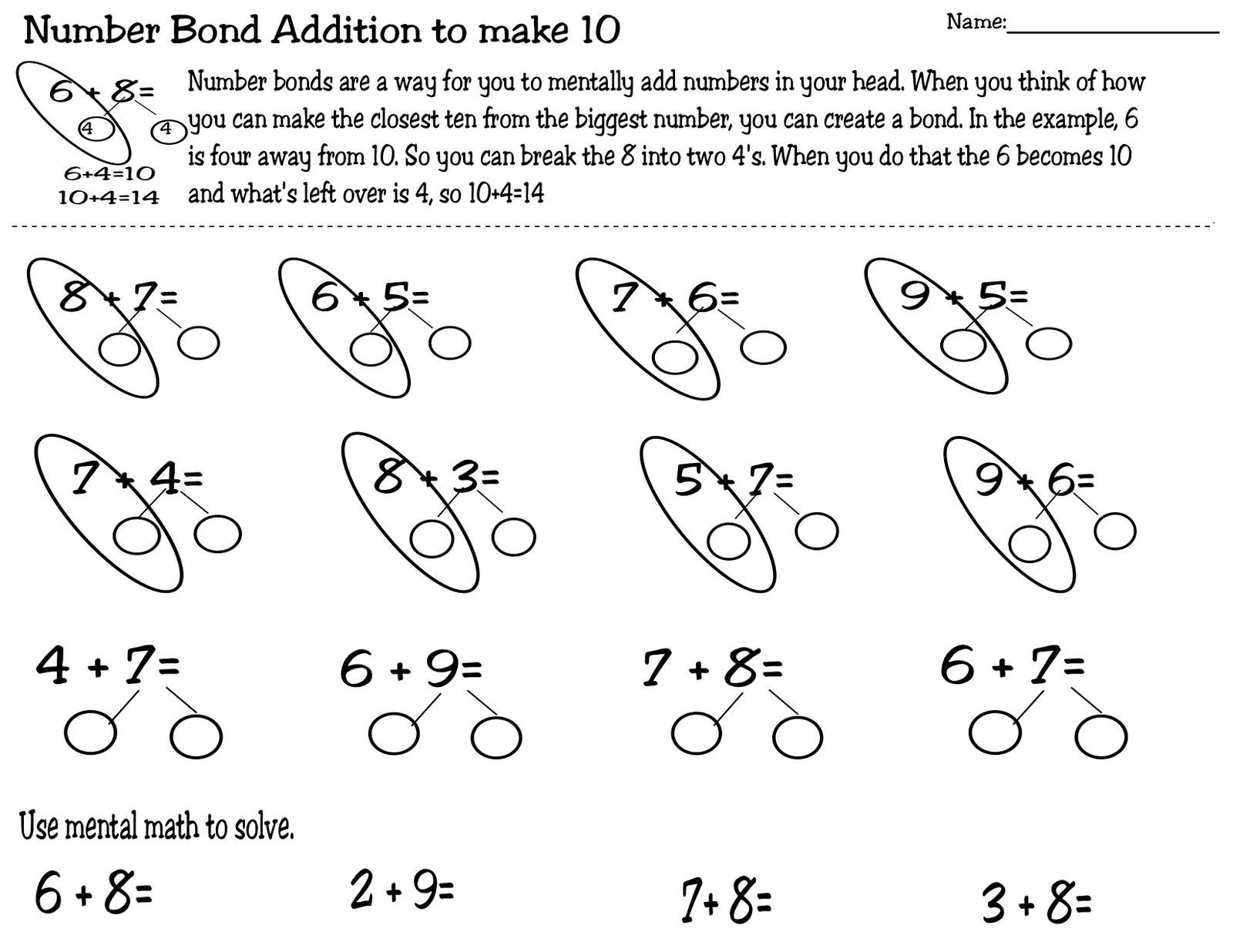 Singapore Math Strategies