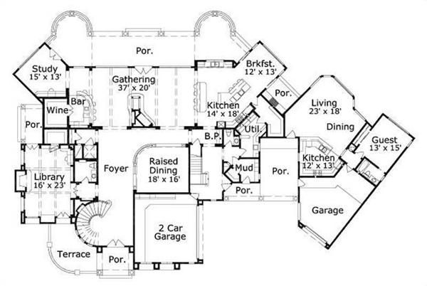 Luxury Home Floor Plan Designs Floor