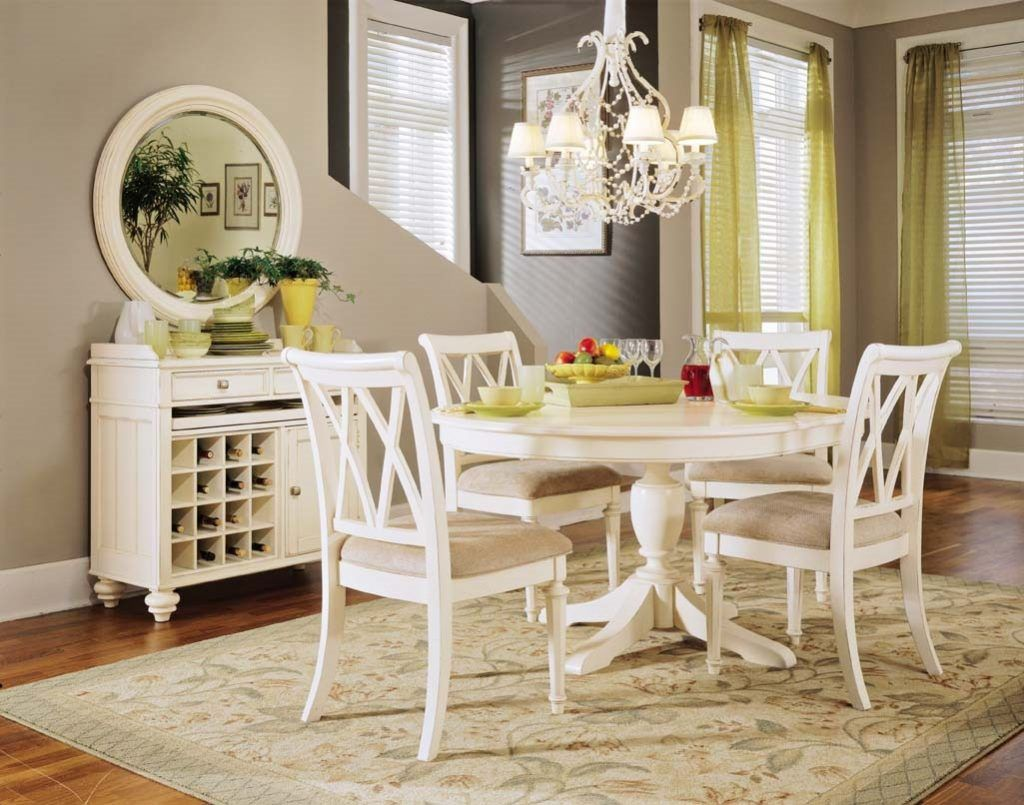 White Dining Room Table Fancy White Round Kitchen Tables ...
