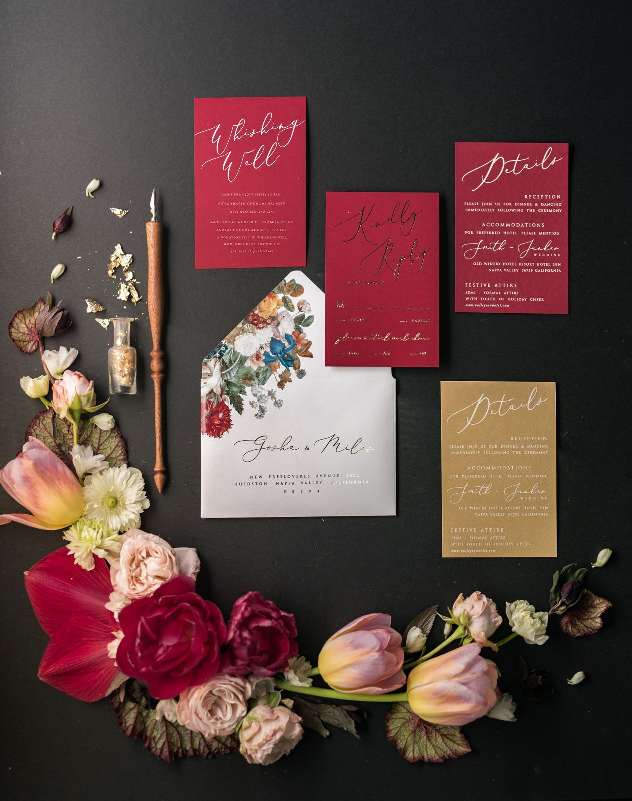 $7.00 Vintage wedding invitations perfect for any wedding style!This ...