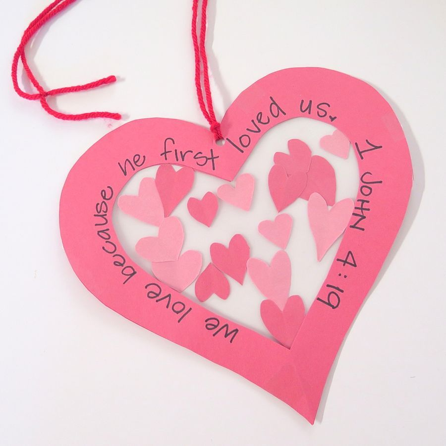 christian valentine crafts for kids | VALENTINE\'S DAY | Pinterest ...