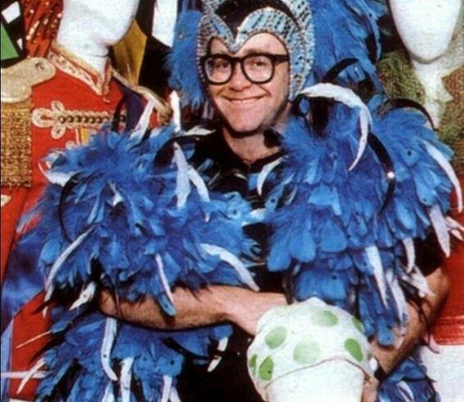 This cutie Elton John lol