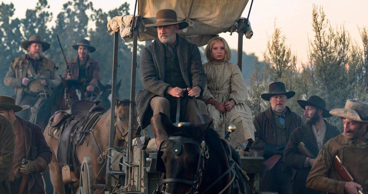 News Of The World Trailer Brings Tom Hanks To The Old West This Christmas In 2020 Tom Hanks Old West Universal Pictures