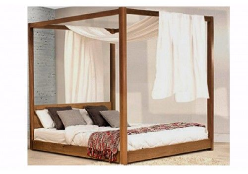 Best Cosy Goodness Timber Bed Frames Four Poster Bed Canopy 640 x 480