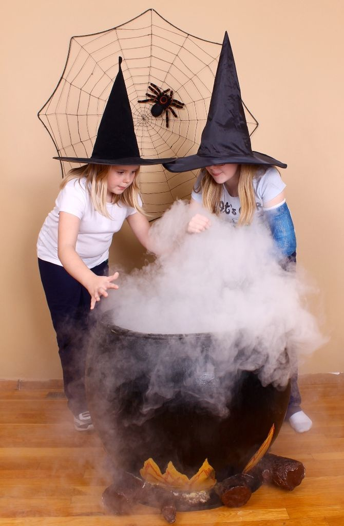 how to make fog without dry ice