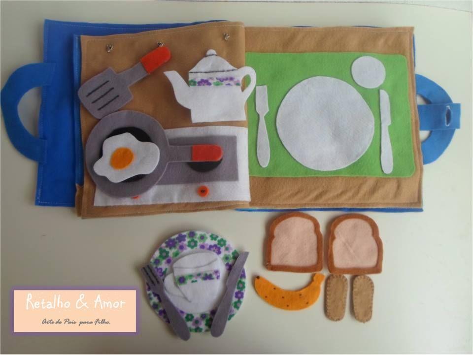 Uma delícia de café da manhã! Detalhe de jogo americano com sombreamento, uma inspiração Montessori Curta nossa página no facebook:  https://www.facebook.com/RetalhoeAmor Entre em contato através do e-mail: retalhoamor@yahoo.com.br