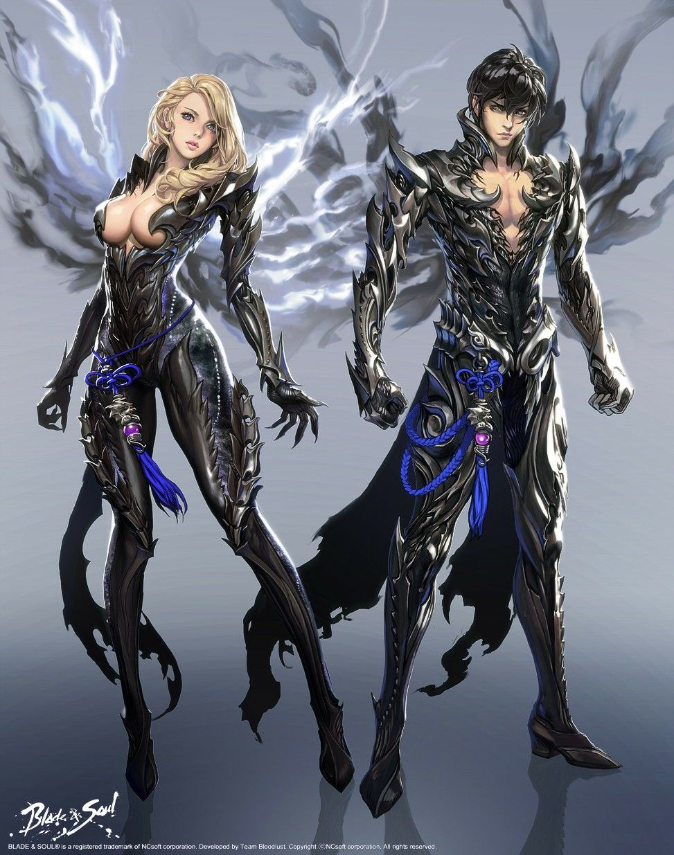 Blade and soul Minh họa manga, Hình ảnh, Chiến binh