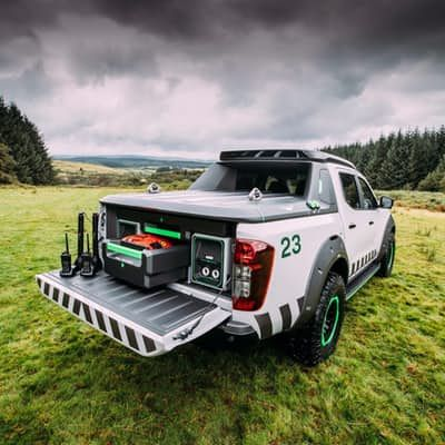 Nissan truck concept The EnGuardu0027s real innovation is in its bed