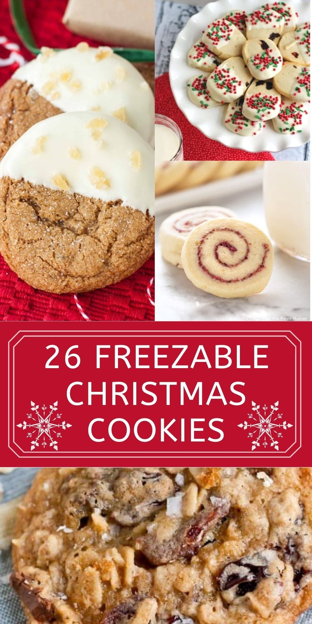 26 Cookies To Freeze For The Holidays Cookies Recipes Christmas Christmas Food Desserts Christmas Food