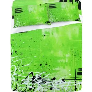 DENY Designs Home Accessories | Madart Inc. Garden Delight Green Dreams Sheet Set