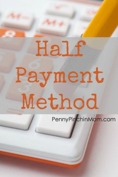 One Stop Solutions In Budget: The Half Payment Budget Method Explained