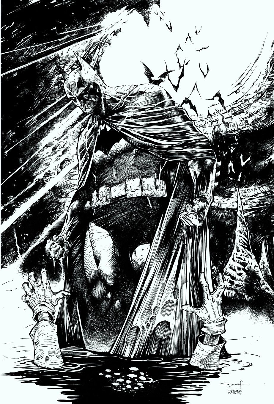 Batman by ardian syaf dc comics