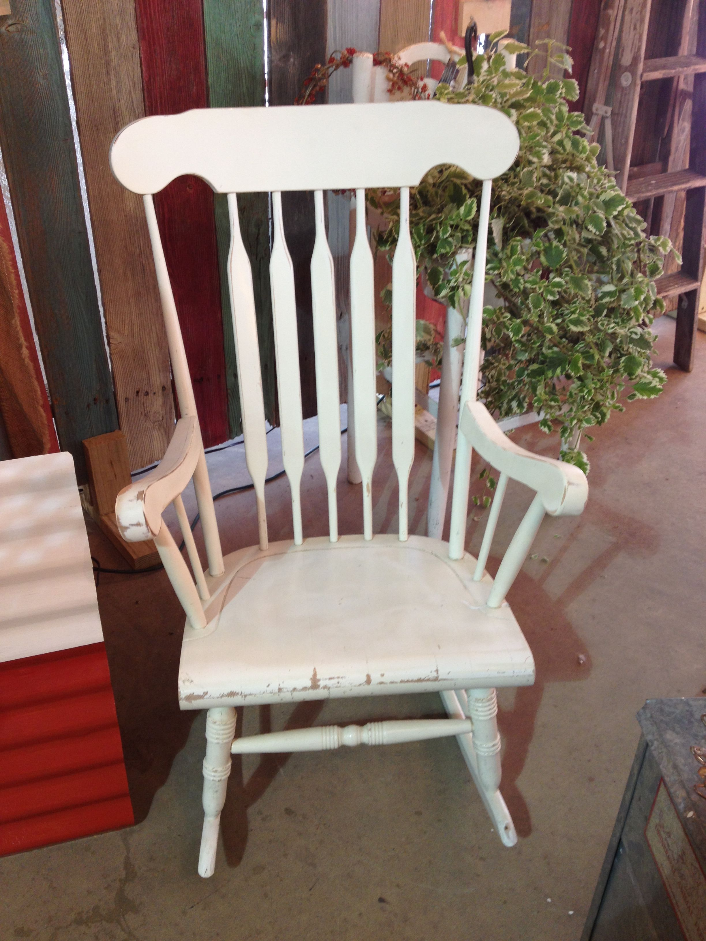 My Wooden Rocking Chair Now How Should I Paint It
