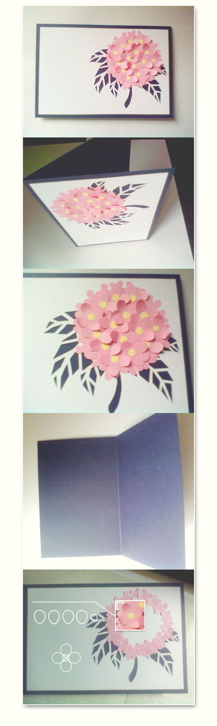 Diy Card Surprisingly Simple With A Beautiful Result Flower