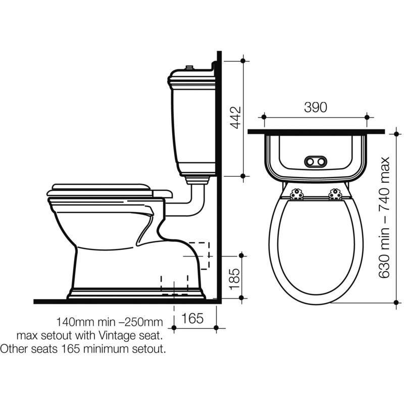 Line Drawing Toilet : Vintage ts web line drawing copy bathroom ideas