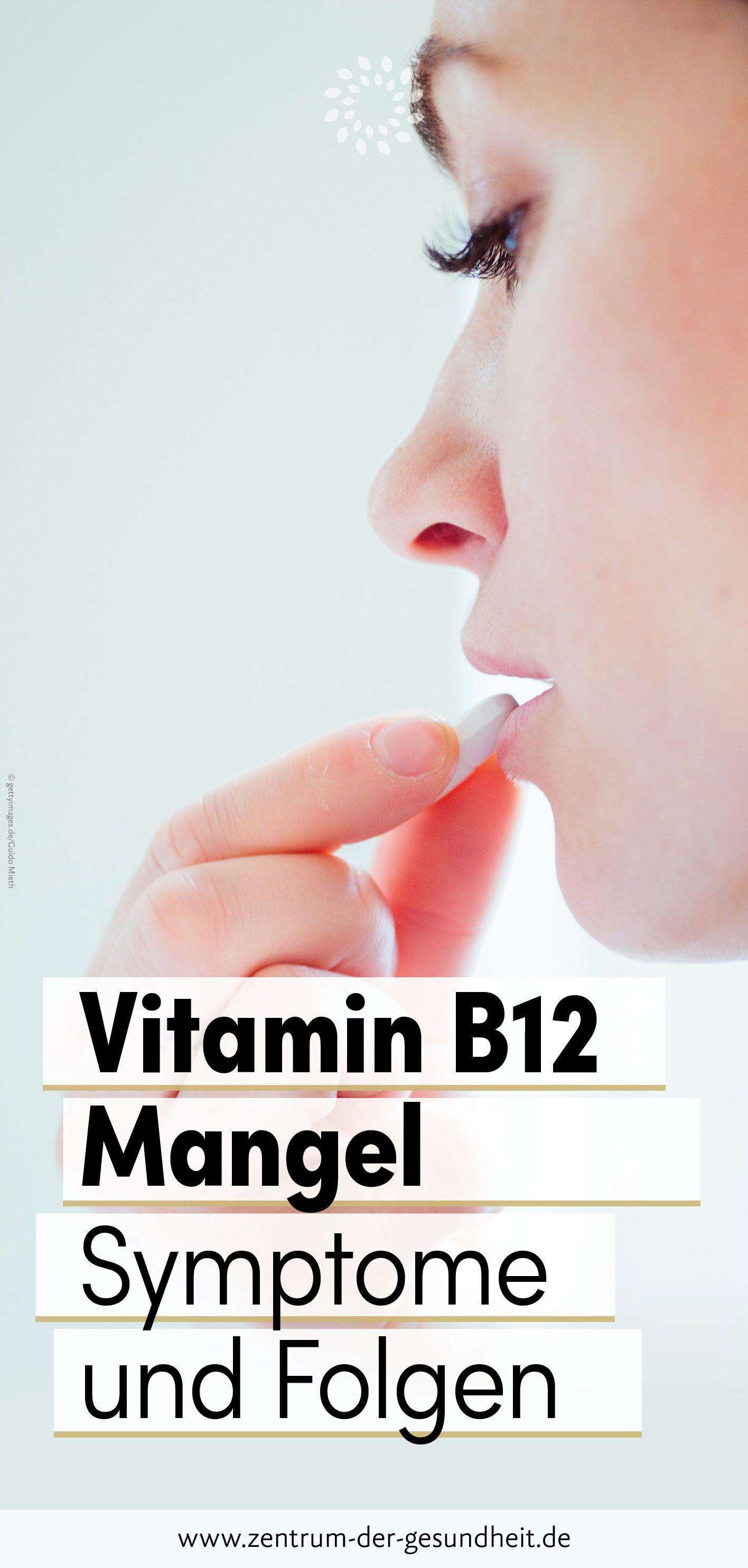 Photo of Vitamin-B12-Mangel – Symptome und Folgen