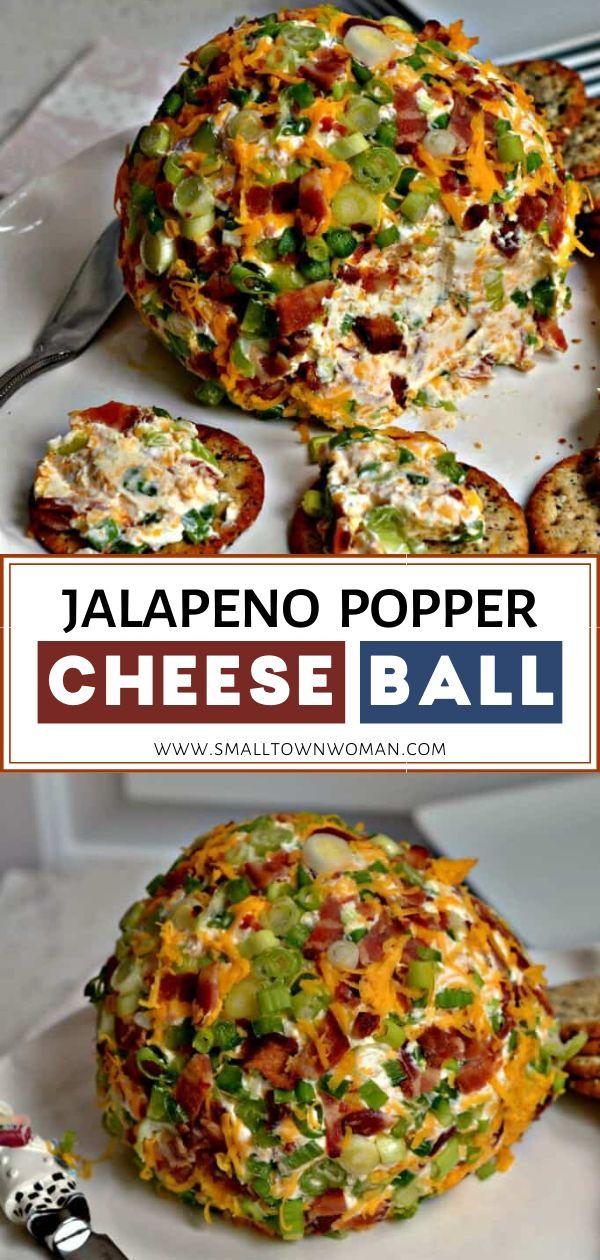 JALAPENO POPPER CHEESE BALL RECIPE