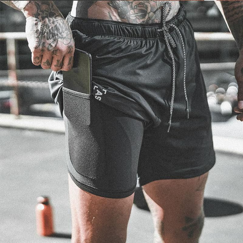 Men Fitness Bodybuilding Shorts Man Casual Workout In 2021 Running Shorts Men Bodybuilding Shorts Running Shorts