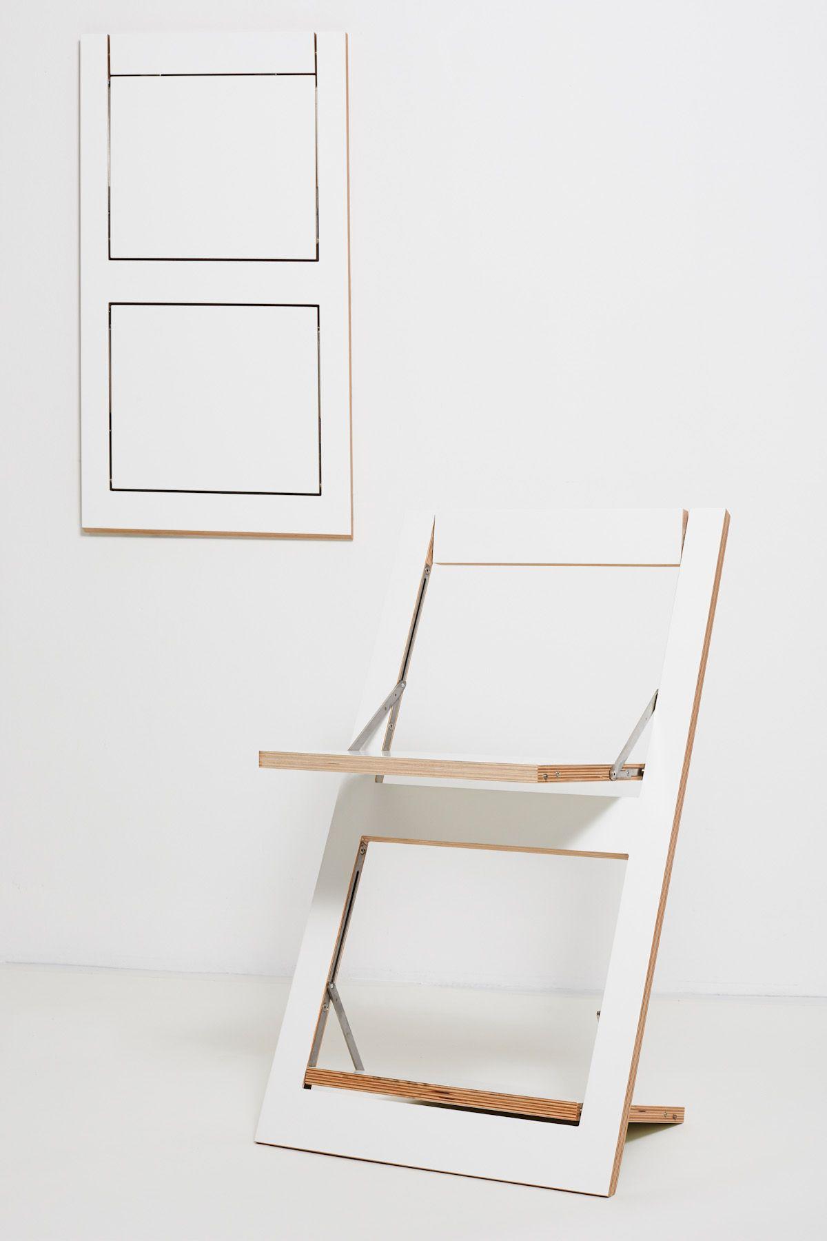 Der Flache Moderne Klappstuhl Fur Kleine Raume Klappstuhl Holz