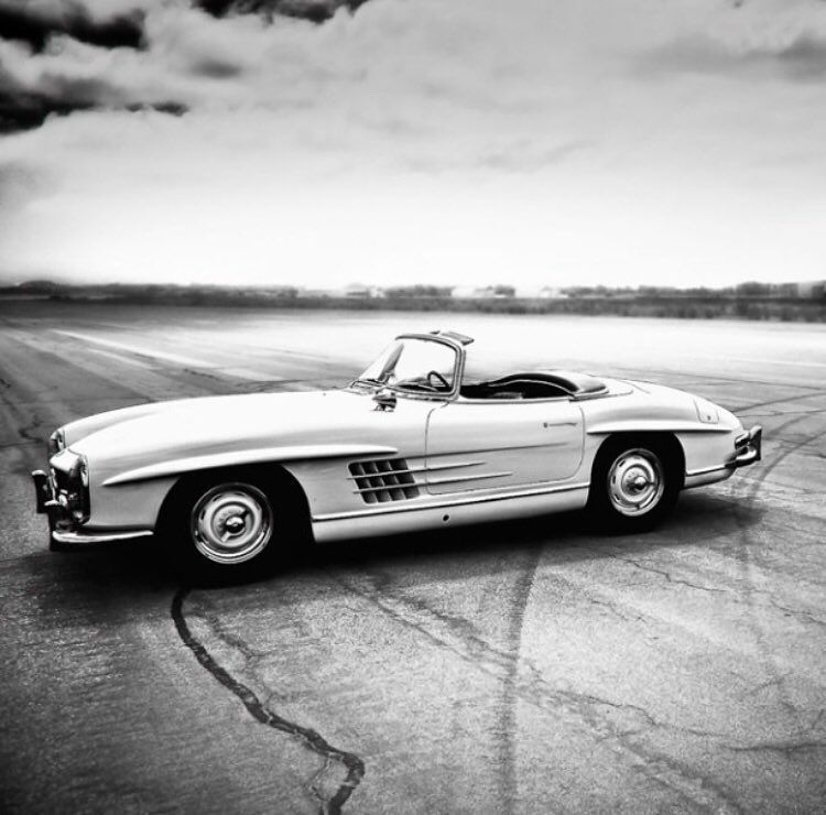 The #classic Mercedes 300SL Is One Of Mercedes Most