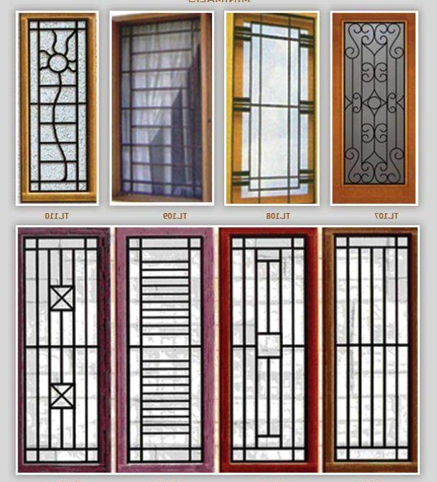 8 model teralis minimalis untuk rumah anda gambar desain for Window grills design pictures