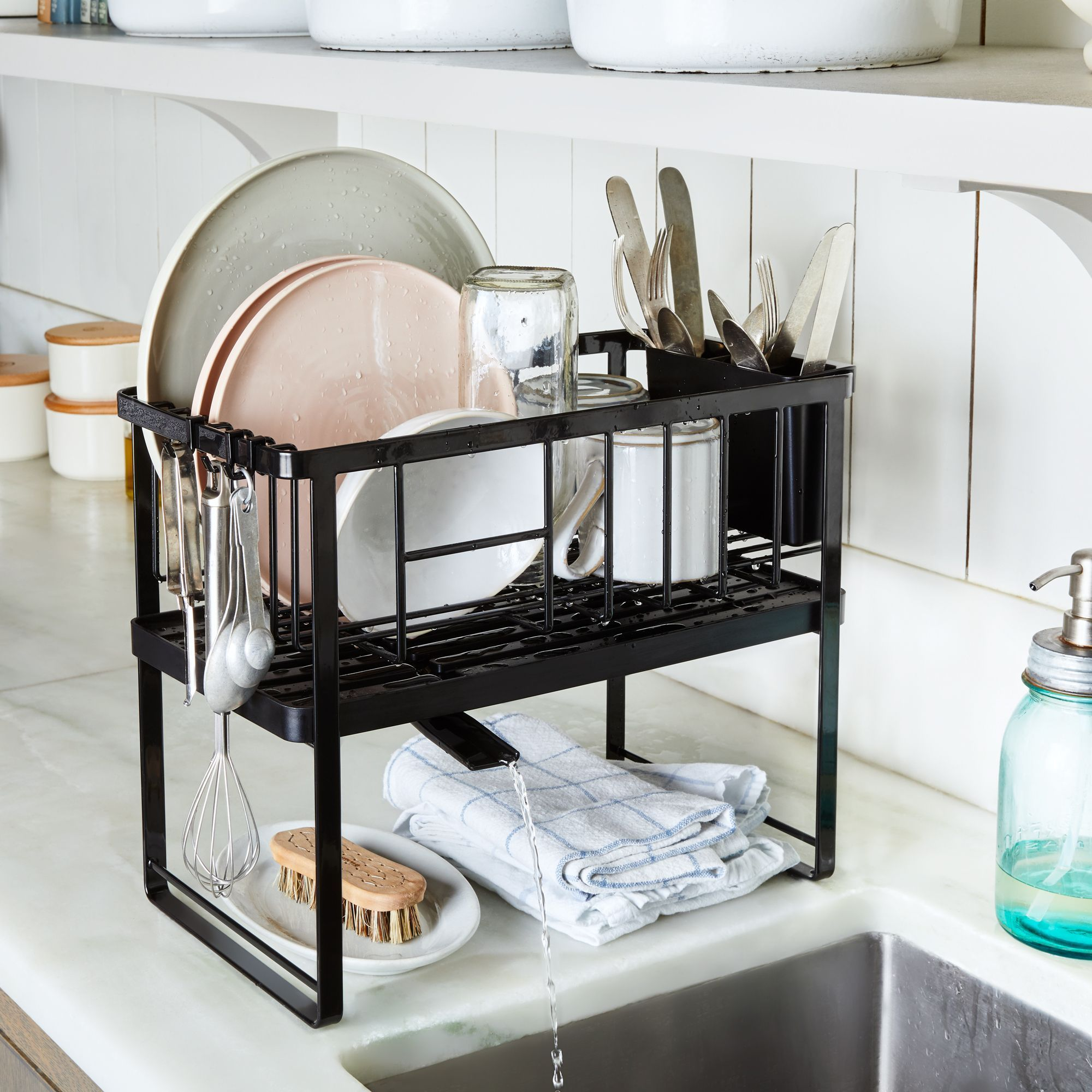 If You Have An Impossibly Small Kitchen This Genius Dish Rack S