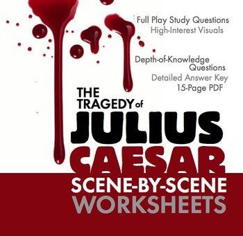 julius caesar scene by scene study guide worksheets for rh pinterest com julius caesar literature guide answer key act 5 julius caesar literature guide answer key act 3