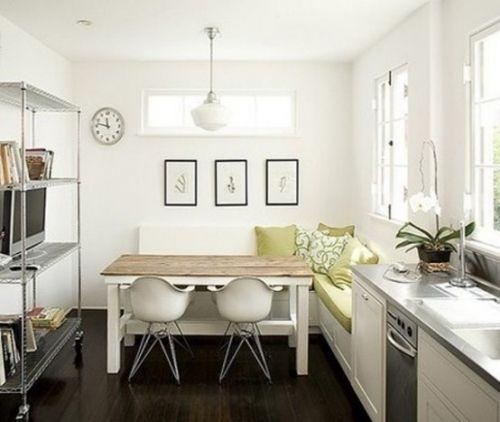Kreative Ideen Für Kleine Küche Weißes Interieur