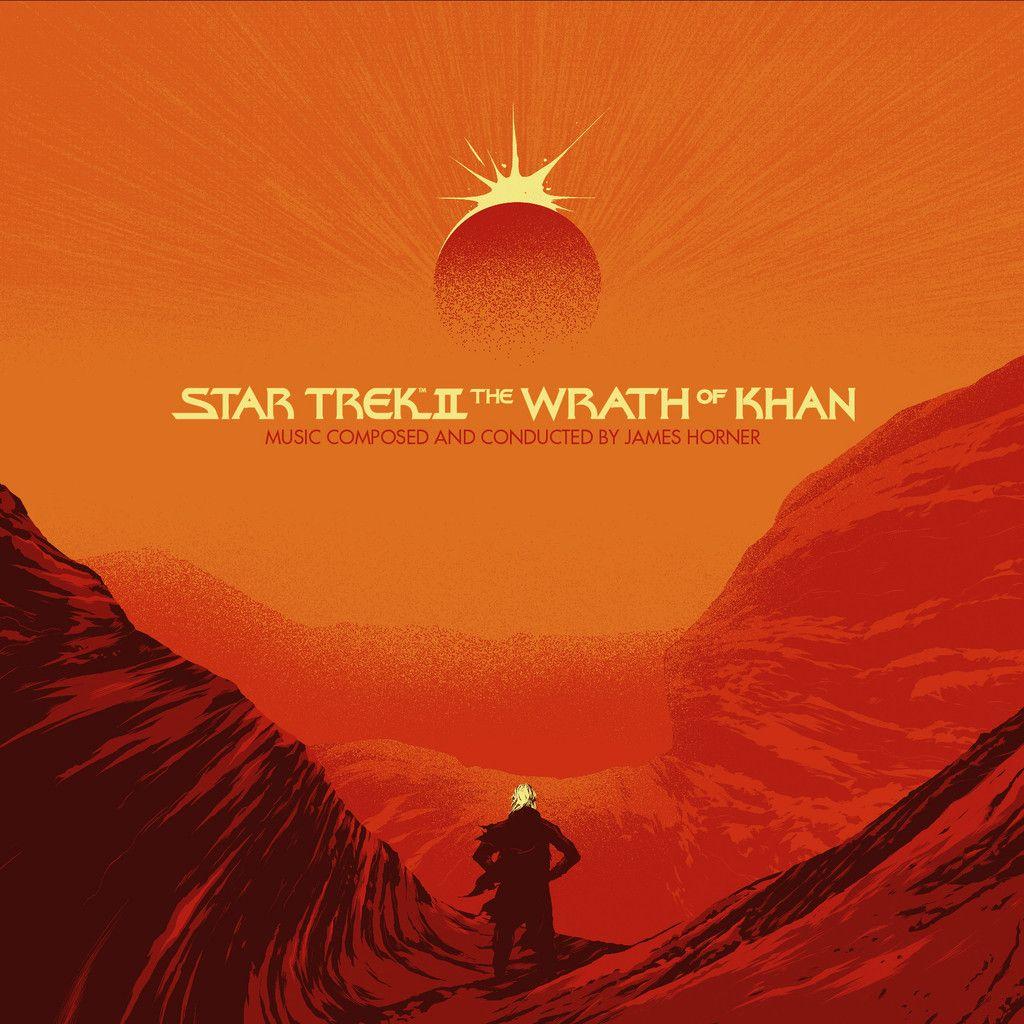 Matt Taylor Star Trek Star Trek Ii Star Trek Vinyl Album Art