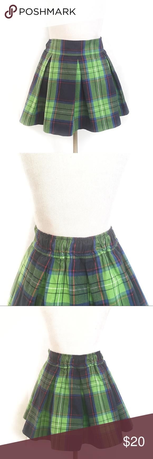 a0f414110 Green Plaid Pleated Mini Skirt | Huston Fislar Photography