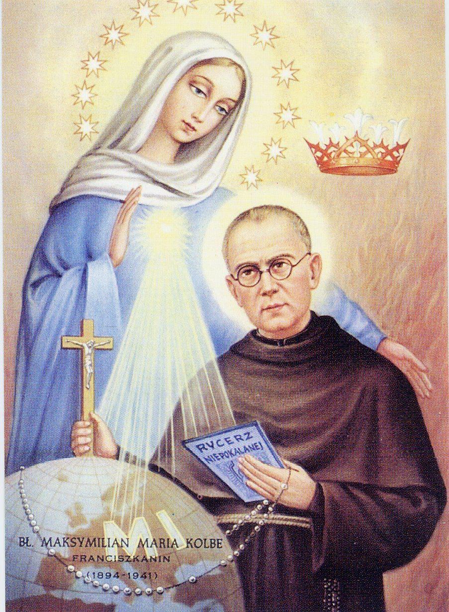 Saint Maximilian Kolbe and the Militia of the Immaculata (english) | St maximilian, Catholic doctrine, Catholic