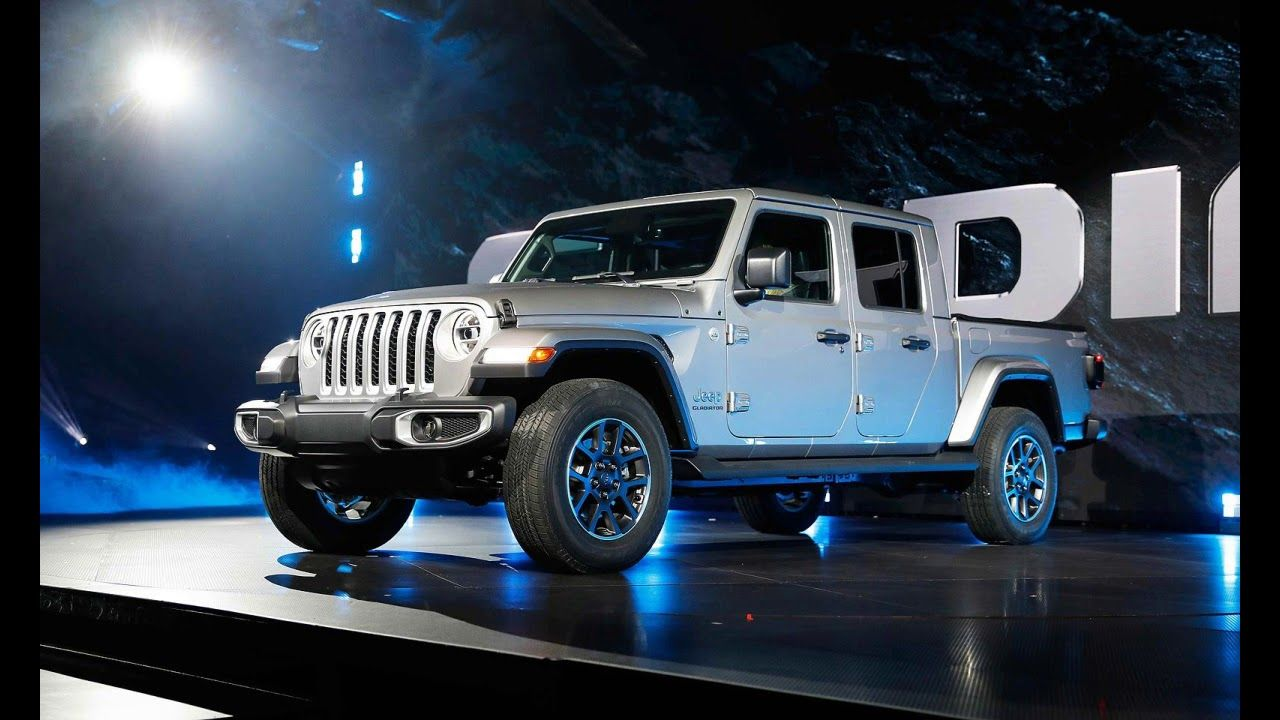 2019 Jeep Gladiator new pickup truck and all specs Jeep