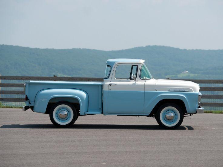 1958 Ford F 100 Custom Cab Flareside Pickup 8 3 F100 Retro Wallpaper 2048x1536 435177 Cab Truck Yeah Ford
