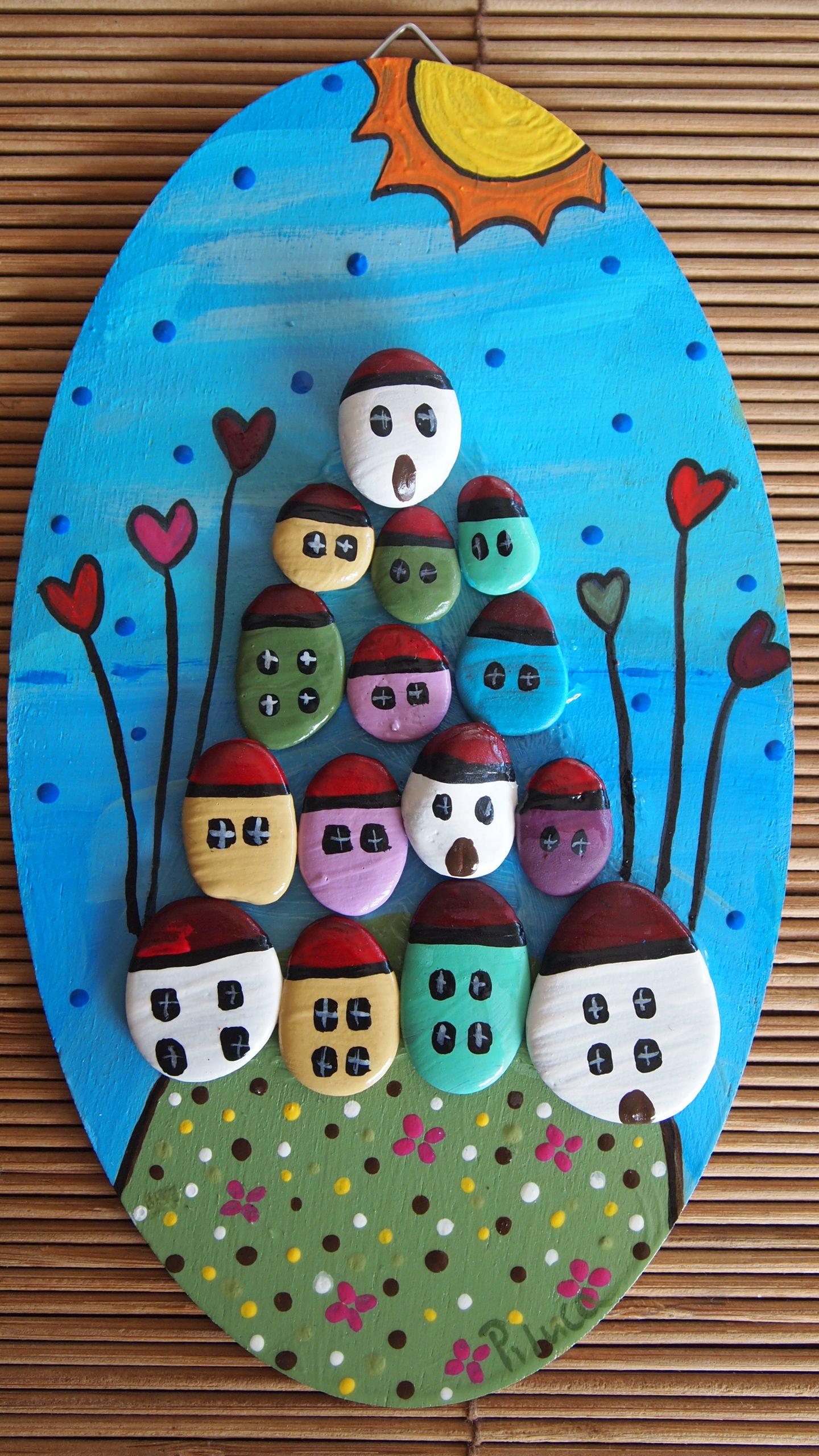 Piedras pintadas a mano faciles buscar con google - Piedras de rio pintadas ...